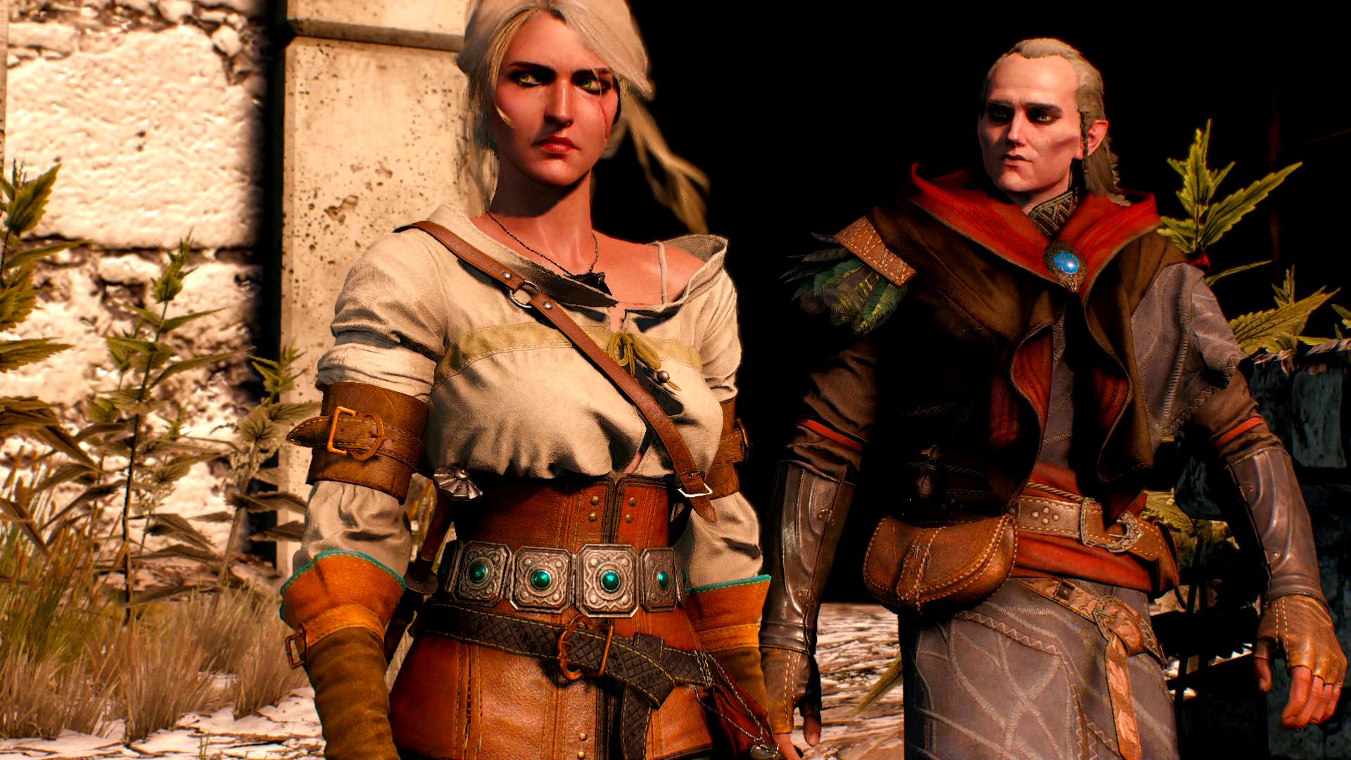 Witcher 3: Wild Hunt Плывем в Велен с Цири летсплей на русском - Геймплей в сети